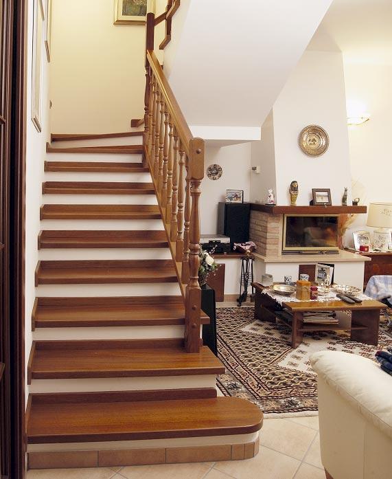 Scale interni legno home with scale interni legno scale - Scale classiche per interni ...
