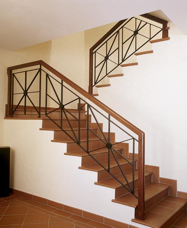 scale gi? esistenti in legno ringhiere in legno legno metallo ferro ...