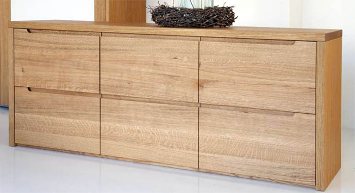 Soggiorni in legno moderni idee per il design della casa for Immagini mobili moderni