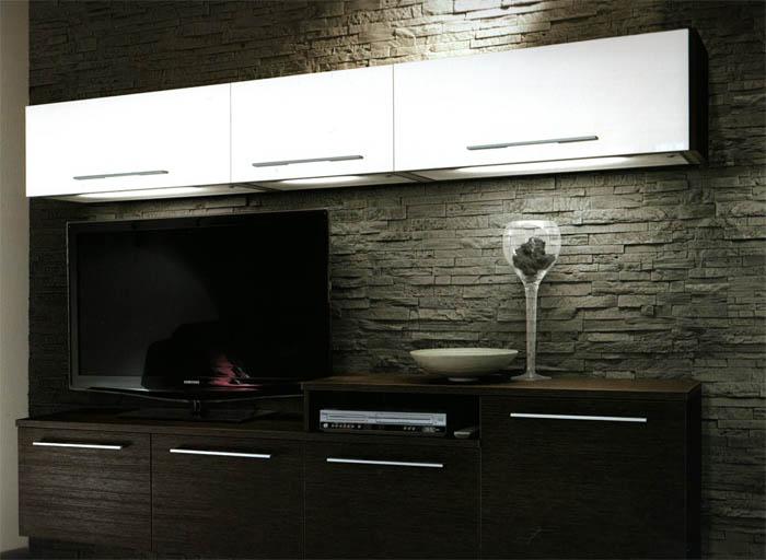 Foto di soggiorni arredati arredamenti moderni carminati for Foto di arredamenti moderni